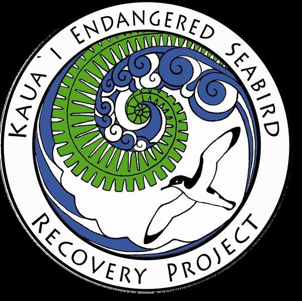 A logo of the Kauaʻi Endangered Seabird Recovery Project