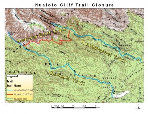 Nualolo Cliff Trail