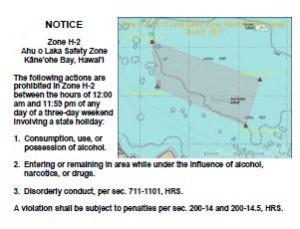 Ahu O Laka Safety Zone H-2
