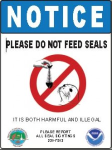 Please Do Not Feed Seals