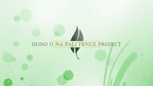 Hono O Na Pali Fence Project
