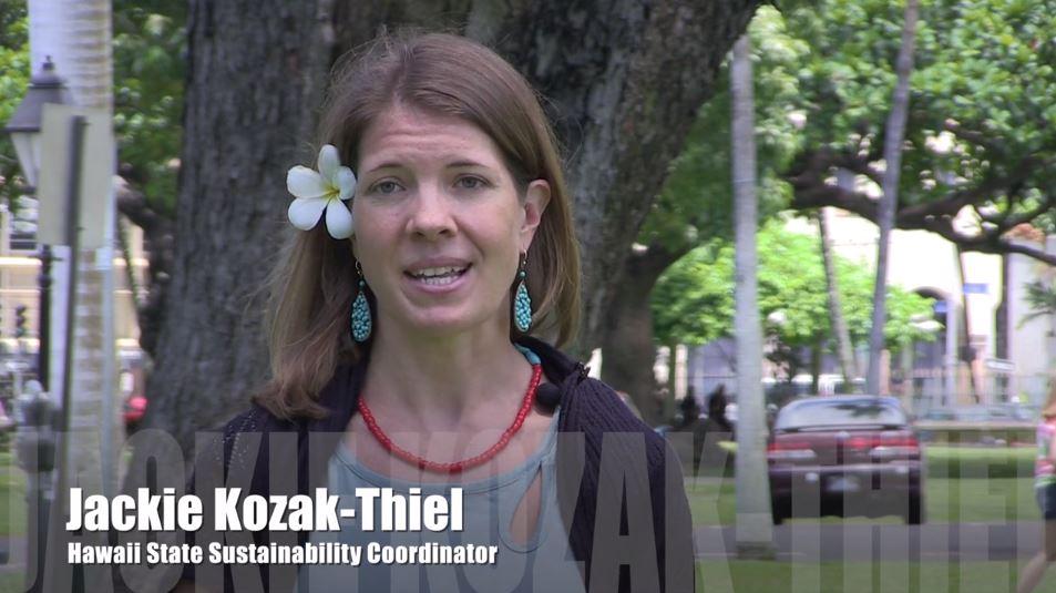 Sustainability Coordinator, Jackie Kozak-Thiel