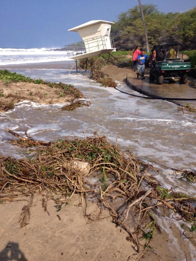 Hapuna Wave Damage