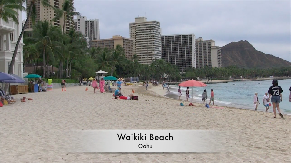 Waikiki Beach - Weather Anomaly