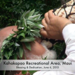 Kahakapao Recreational Area Blessing and Opening