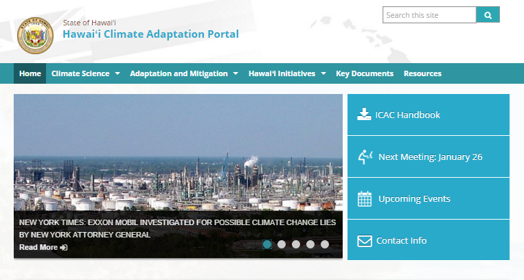 Climate-Change-website