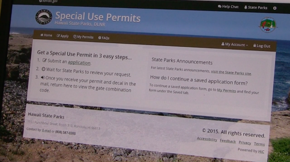 Kaena Point Special Use Permit
