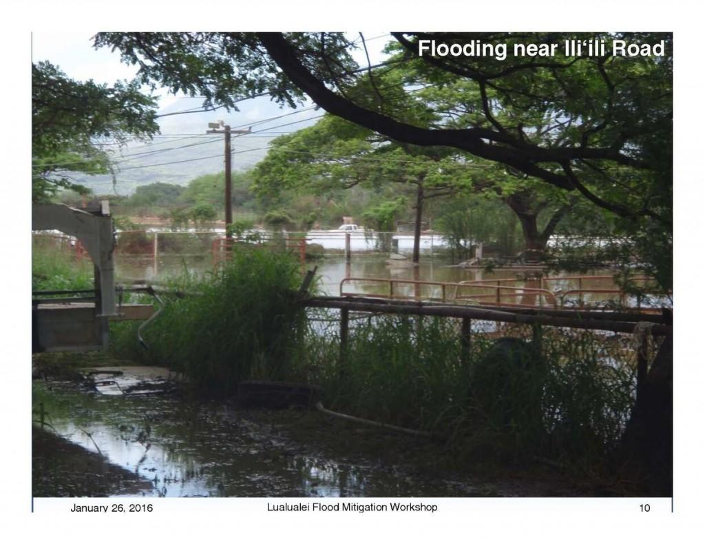 Lualualei Flood