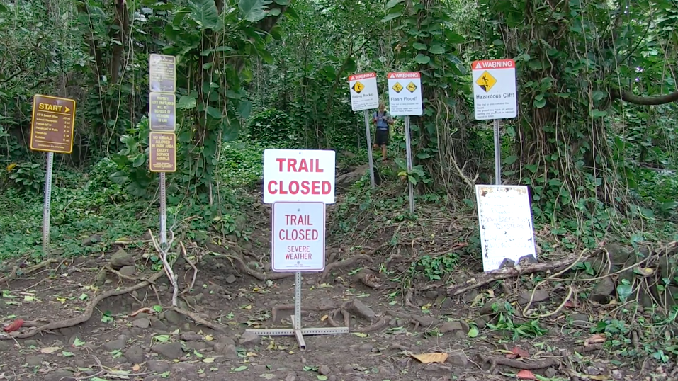 Kalalau Trail Closed