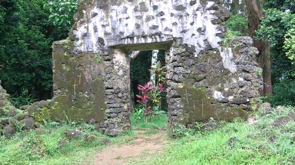 Kaniakapupu Vandalism