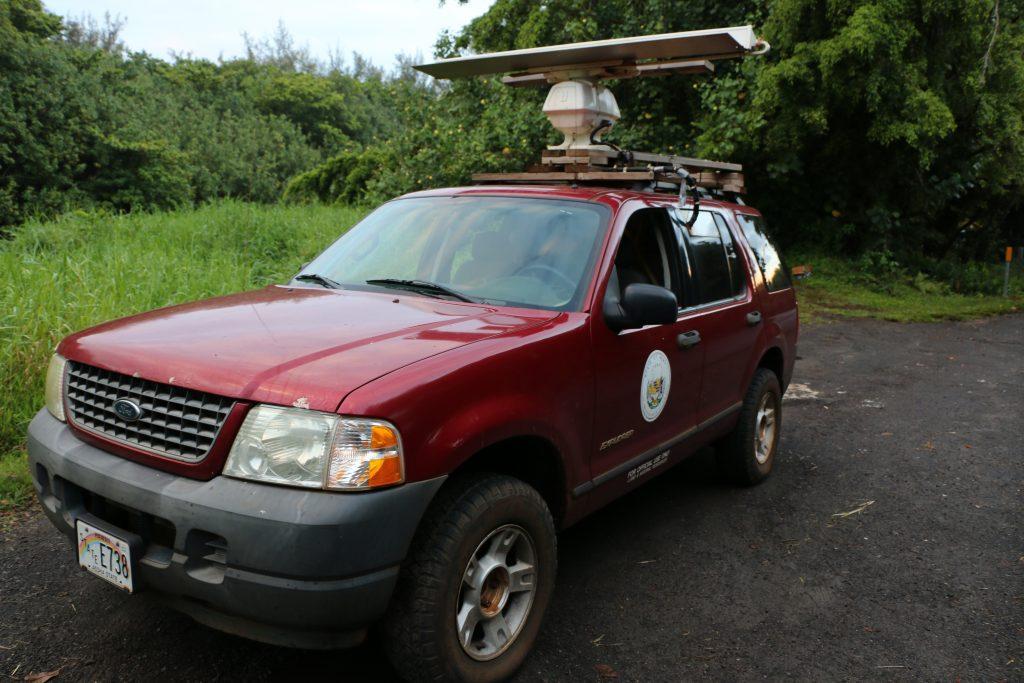Kauai Radar Vehicle Seabird Monitoring Project