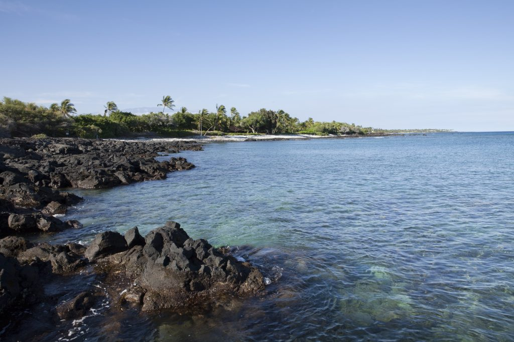 Big Island, Hawaii, Paniau at Puako, coastal scenic, Lalamilo