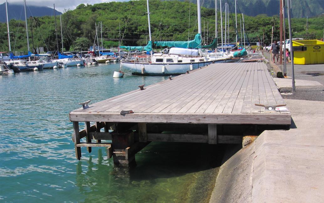 Loading Dock At Heeia